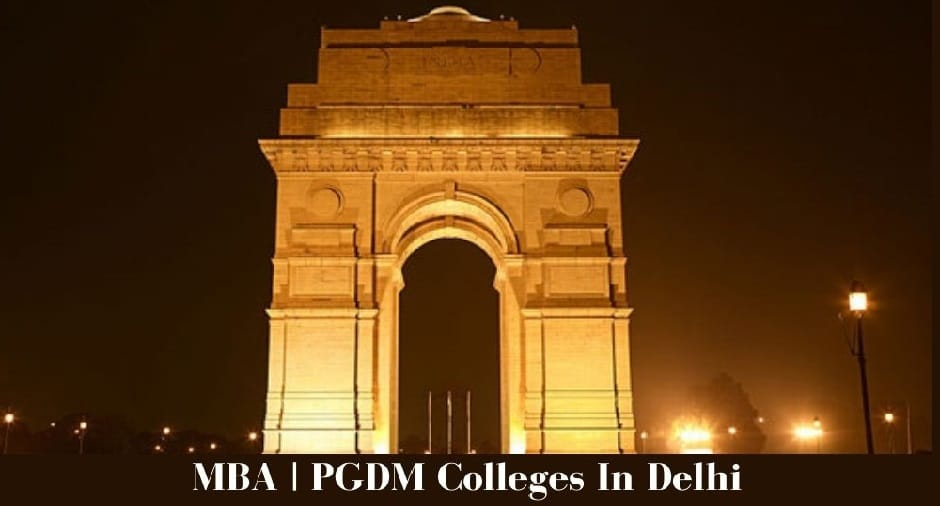 PGDM and MBA Colleges In Delhi