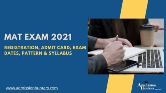 MAT 2021 Exam