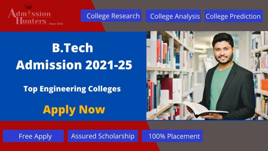 B.Tech Admission 2021-25